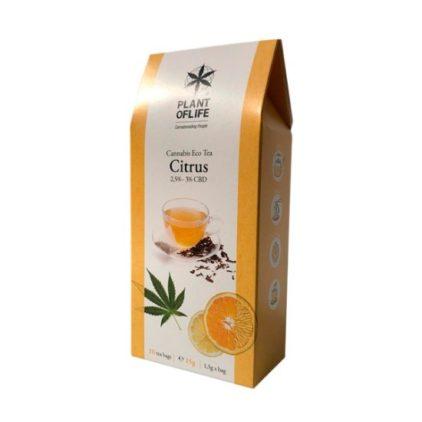 thé citrus cbd