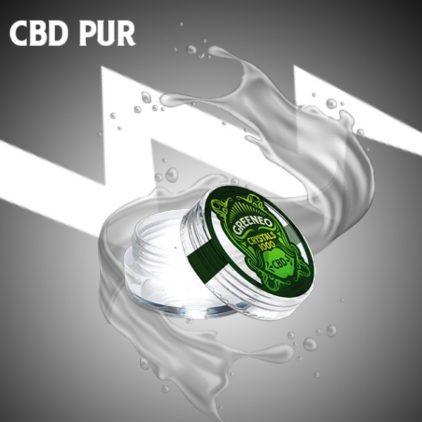 cristaux cbd greeneo cannabidiol cannabis pas cher lyon puissant et legal