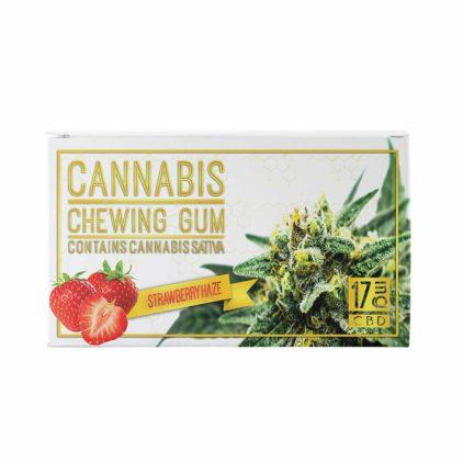chewing gum strawberry