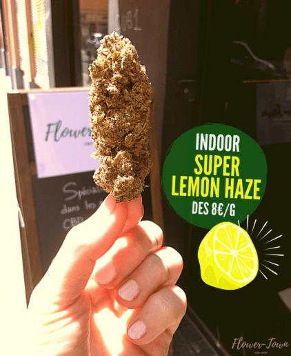 tete fleurs cbd super lemon haze citron