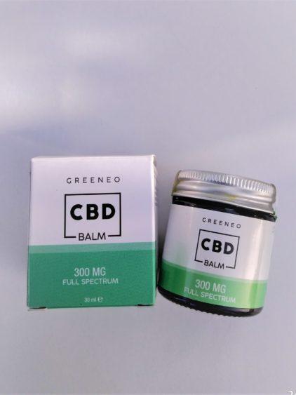 baume corporel greeneo cannabis cbd full spectrum