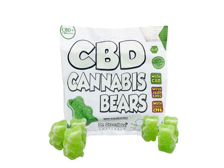 bonbons, nounours, cannabis, cbd, chanvre, bestown, lyon