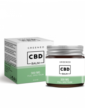 baume corporel greeneo cannabis cbd full spectrum