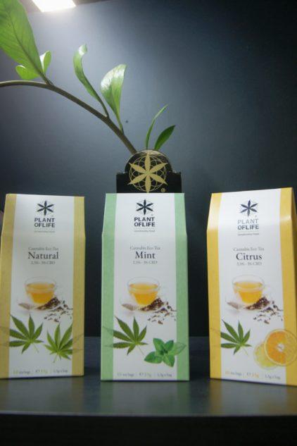 The relaxant au Cannabis CBD CBG Plant of Life Parfum Menthe Citron