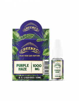 Eliquid CBD Greeneo Purple Haze